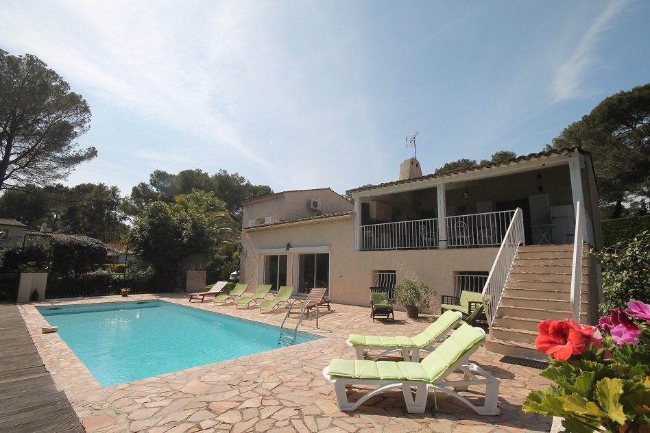 Antibes Holiday Rental, villa, 10 people, AL056 - Photo