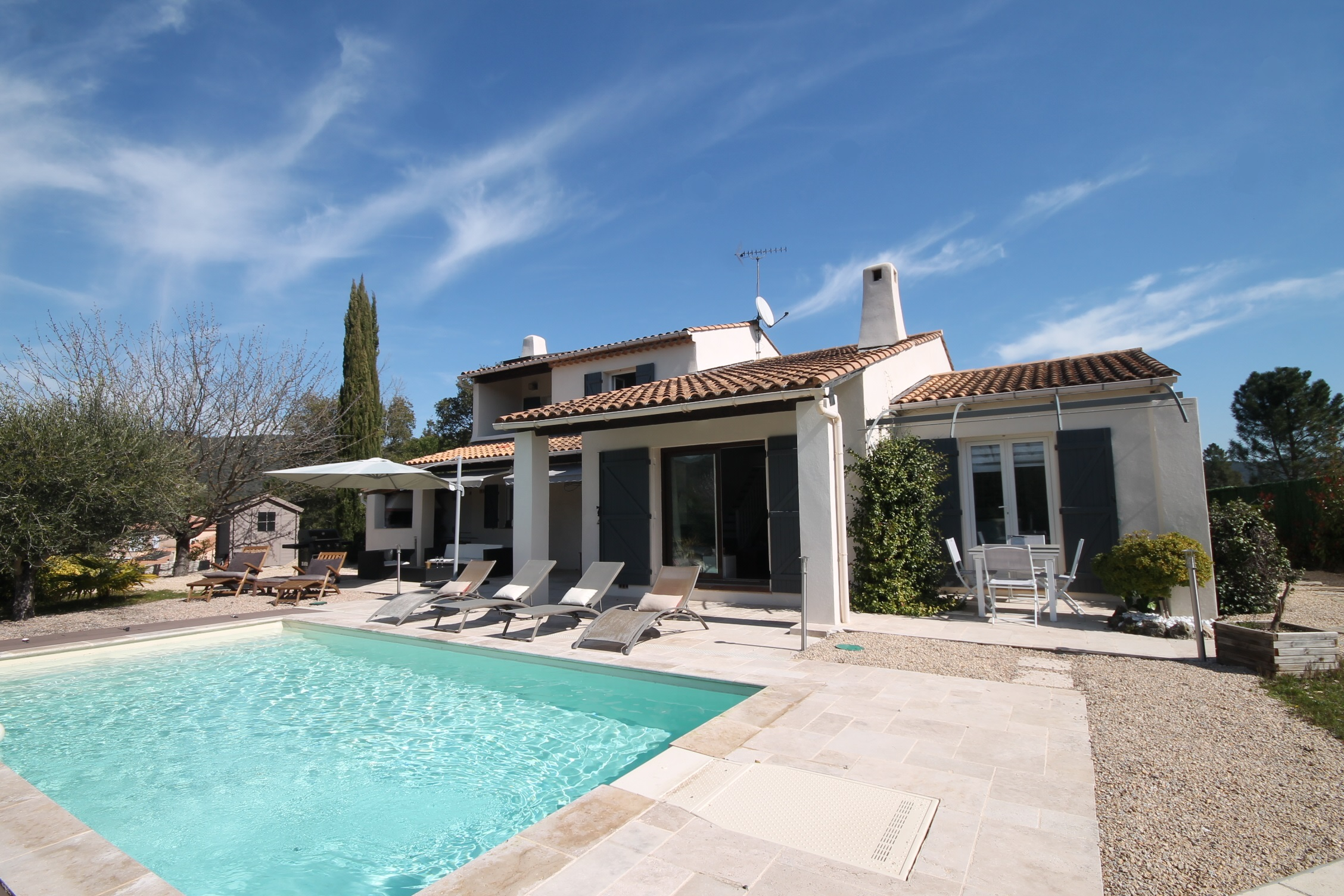 Fayence Holiday Rental, villa, 8 people, AL076 - Photo