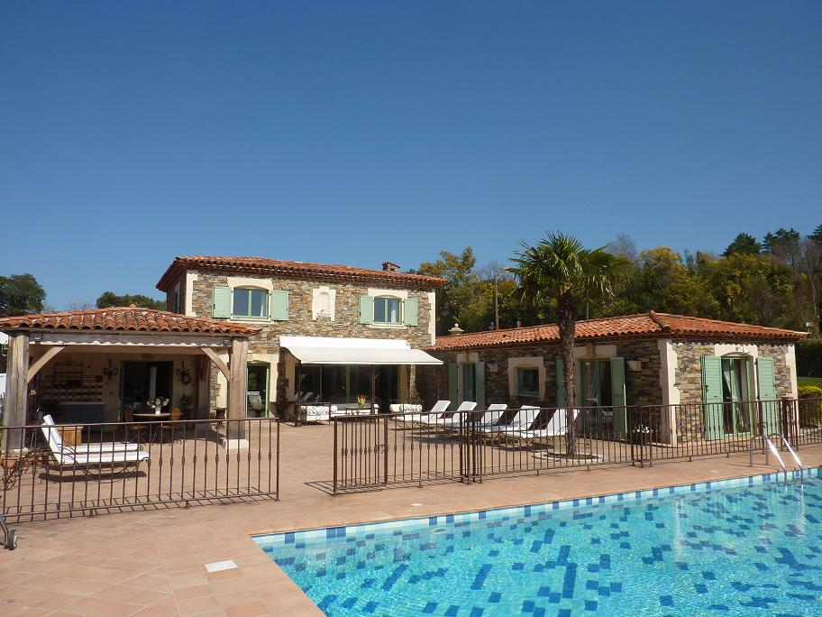 Mandelieu Holiday Rental, villa, 10 people, AL851 - Photo